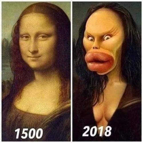 Bộ ảnh khác biệt xưa và nay